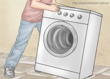 Máy giặt Bosch bị rung lắc