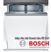 Máy rửa bát Bosch báo lỗi E14: Nguyên nhân & Làm sao khắc phục?